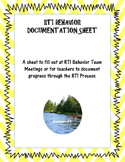 RTI Behavior Documentation