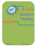 RTI Behavior Tracking Form