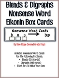 Blends and Digraphs Nonsense Word Elkonin Box Cards
