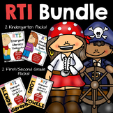 RTI Bundle: Kindergarten, First & Second Grade Distance Learning