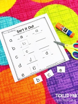 Alphabet Letter Activities (Low-Prep)