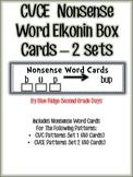 RTI CVCE Nonsense Word Elkonin Box Cards