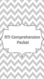 RTI Comprehension Skills Packet