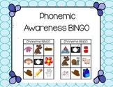 Daily 5 Word Work Blending and Segmenting BINGO
