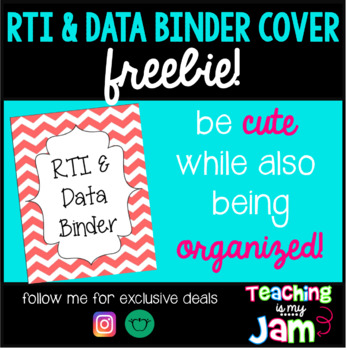 RTI & Data Binder Cover