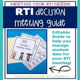 RTI Data Meeting Guide