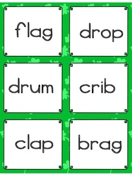 RTI Decoding & Fluency Practice Game:  St. Patrick's Day