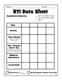 RTI Documentation Form