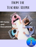 RTI or MTSS Documents and Forms for Teams