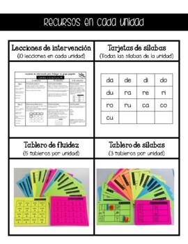 RTI Español Camino a la lectura 1-5 (Programa de Fonetica)