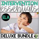 RTI Essentials DELUXE Bundle (Small Group and Intervention