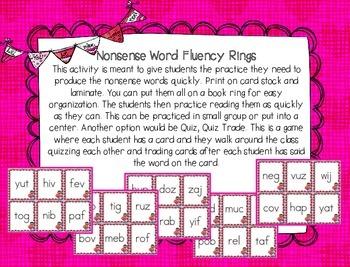 RTI February Nonsense Word Fluency