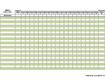 RTI - Graph Generating Excel Sheet