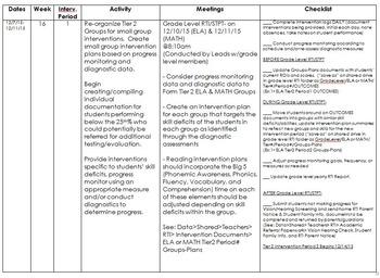 RTI Handbook & Calendar