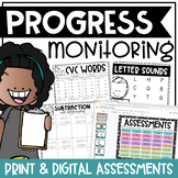 Progress Monitoring Collection Forms & Tracking Sheets