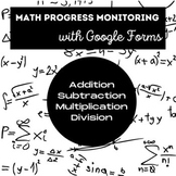 RTI/IEP Progress Monitoring Math Probes