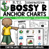"""Phonics Anchor Charts and Activities for Bossy """"r"""""""