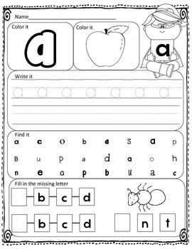 RTI Interactive Intervention and Alphabet Assessment (Superhero/Princess)