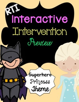 RTI Interactive Intervention and Alphabet Assessment (Supe