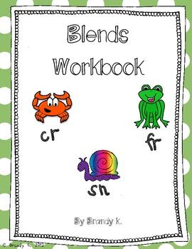 RTI Intervention: Consonant Cluster/Blends Workbook