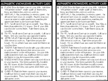 RTI Kit: Alphabetic Knowledge