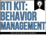 RTI Kit: Behavior Management