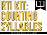 RTI Kit: Counting Syllables