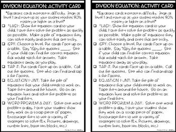 RTI Kit: Division Equations