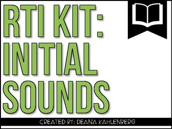 RTI Kit: Initial Sounds