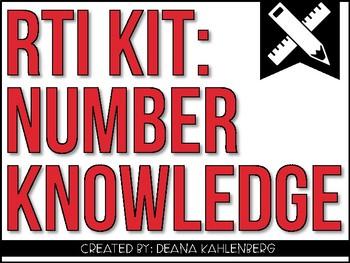 RTI Kit: Number Knowledge