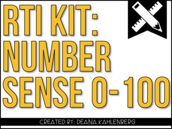 RTI Kit: Number Sense 0-100