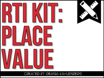 RTI Kit: Place Value