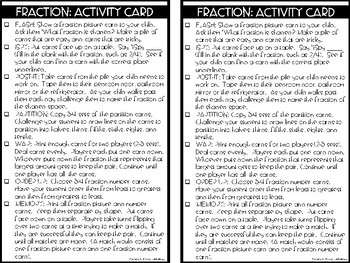 RTI Kit: Fractions and Partitions