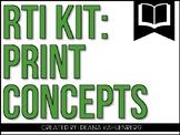 RTI Kit: Print Concepts