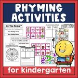 Rhyme Time RTI Teaching Kit