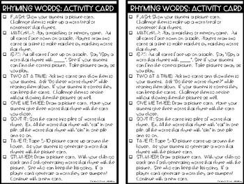 RTI Kit: Rhyming Words