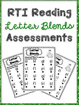 RTI Letter Blends Reading Intervention Progress Monitoring