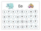 RTI Letter Recognition Complete Alphabet