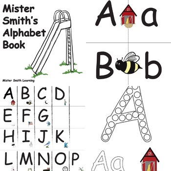 RTI Letter Recognition, Letter Identification w/ Mister Smith Learning Bundle