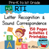 RTI Letter Recognition and Sound Correspondence