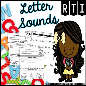 RTI Letter Sound Complete Unit