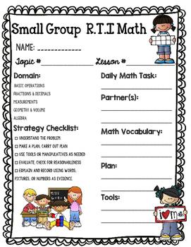 RTI Math BUNDLE