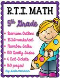 RTI Math Grade 5