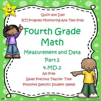 Math Measurement and Data Quizzes, Part 2