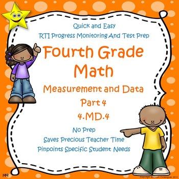Math Measurement and Data Quizzes, Part 4