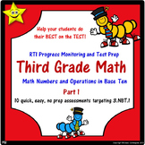 Math Number and Operations Quizzes, Part 1 Distance Learning