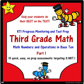 Math Number and Operations Quizzes, Part 1