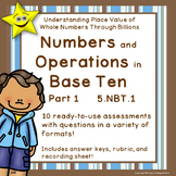 Math Numbers and Operations in Base Ten, Grade 5, Part 1 D