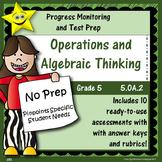 Math Operations and Algebraic Thinking, Grade 5, Part 2 Di