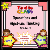 Math Operations and Algebraic Thinking Quizzes, Part 6 Dis